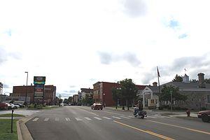 Hudson, Michigan - Main Street, facing east.