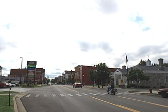 Hudson, Michigan - Facing east along Main Street