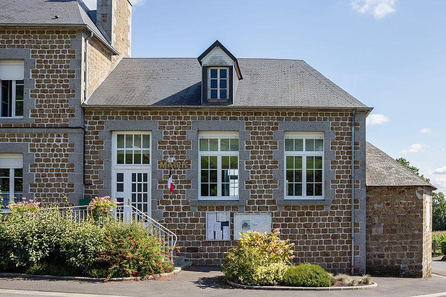 Français:  Mairie du Mesnil-Rainfray (France).