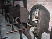 Majdanek - crematorium ovens