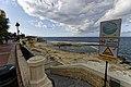 Malta - St. Julian's - Sliema - Sliema Promenade - Fond Ghadir Beach 02.jpg