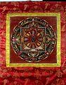 Mandala of black and white Mah¯ak¯alas. Distemper painting Wellcome L0015312.jpg