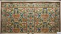 Manifattura forse messinese, paliotto d'altare in seta ricamata e posata, 1625-50 ca.jpg