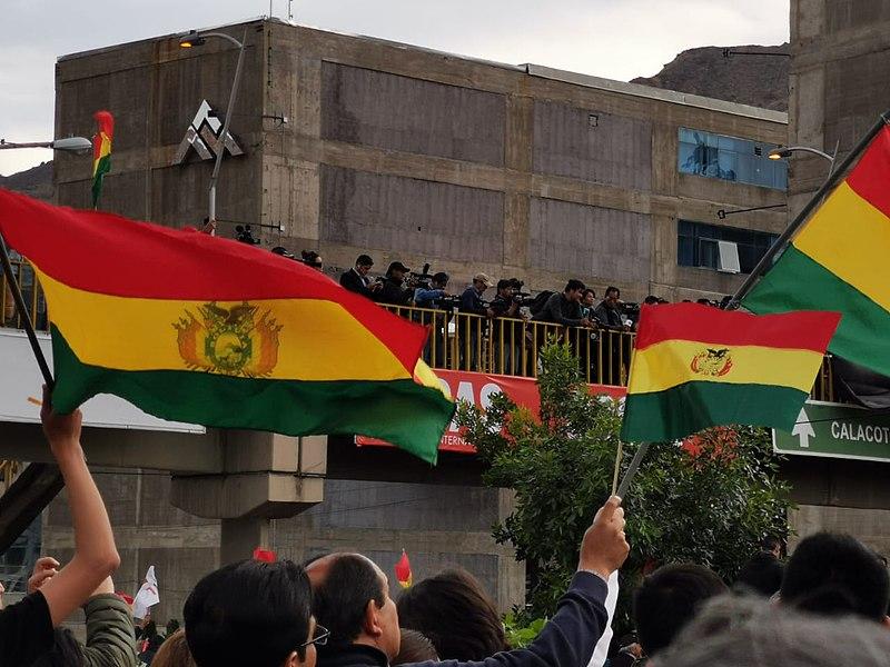 File:Manifestaciones en Bolivia 2019 (6).jpg