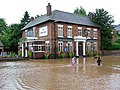 Manor House, flood of July 20th 2007 - geograph.org.uk - 505789.jpg