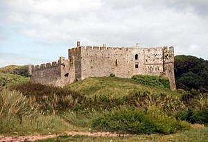 Gerald of Wales - Manorbier Castle, birthplace of Gerald of Wales