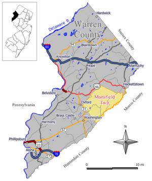 Mansfield Township, Warren County, New Jersey - Image: Mansfield twp nj