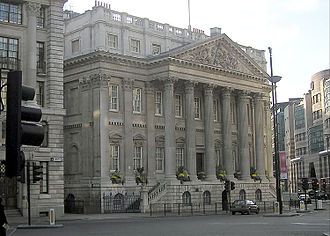 Mansion House, London - Image: Mansion House London