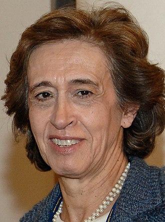 2009 Portuguese local elections - Image: Manuela Ferreira Leite B