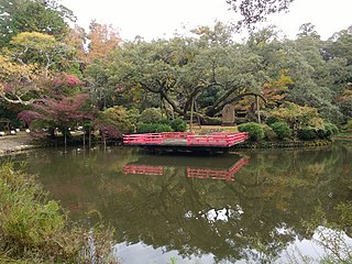 botanical garden in Nara, Nara, Japan