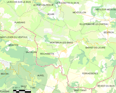 Map commune FR insee code 26193.png