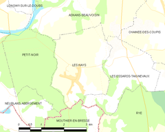 Map commune FR insee code 39266.png