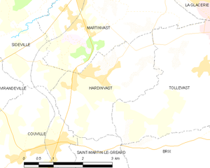 Map commune FR insee code 50230.png