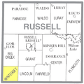 Map highlighting Winterset Township, Russell County, Kansas.png