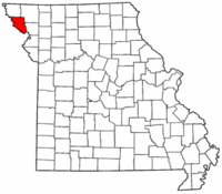 Map of Missouri highlighting Holt County.png