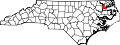Map of North Carolina highlighting Chowan County.svg