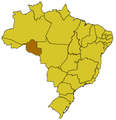 Map of Rondonia in Brazil.png