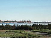 Il panorama del Mar Piccolo dalla via Appia