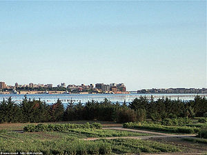 Taranto - The view of the Little Sea from the Appian Way