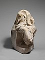 Marble statue of a draped seated man MET DP139909.jpg