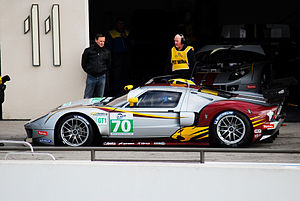 2010 FIA GT1 World Championship - A Ford GT1, built by Matech Concepts specifically for the 2010 championship and entered by Marc VDS Racing Team
