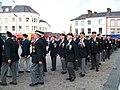 March past of the British Korean Veterans, Caernarfon 2009 - geograph.org.uk - 1554667.jpg