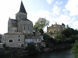 The church in Mareuil-sur-Lay-Dissais