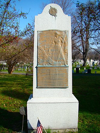 Margaret Corbin Monument - Image: Margaret Corbin Memorial, West Point Cemetery, United States Military Academy