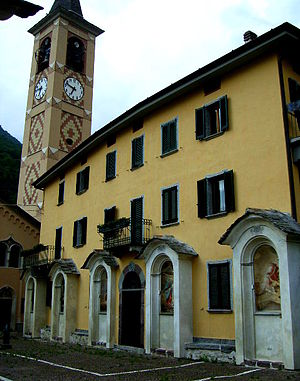 Margno - Parish church of St. Bartholomew.