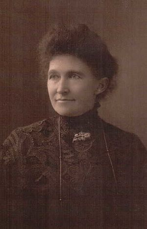 Marie Louise Scudder Myrick - Mrs. Myrick around the time of her retirement as editor of the Americus Times-Recorder