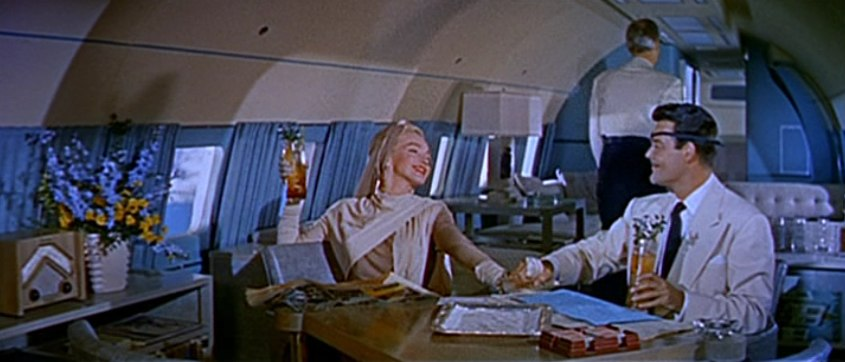 Marilyn Monroe and Alexander D'Arcy in How to Marry a Millionaire trailer