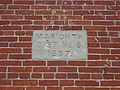 Marion Township Sub-District No. 8 School, date stone.jpg