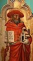 Mariotto di nardo, madonna della cintola tra i ss. girolamo e giovanni evangelista, 1398 (fiesole, oratorio di fontelucente), 02.jpg
