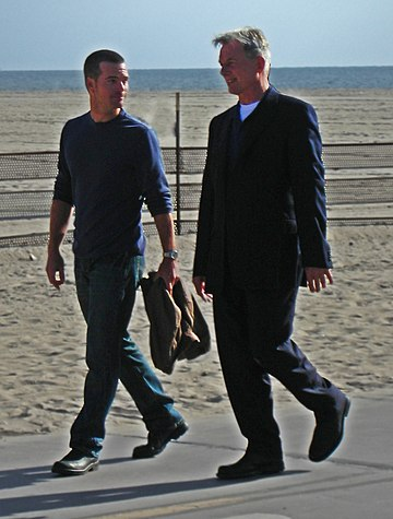 Mark Harmon and Chris ODonnell (8 March 2009) 6.jpg
