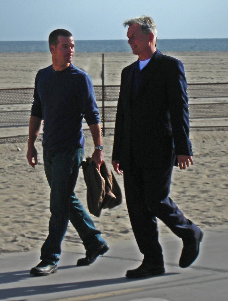 Mark Harmon and Chris ODonnell (8 March 2009) 6