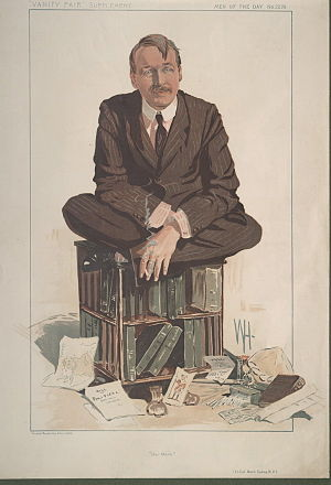 Mark Sykes - Sykes caricatured by Wallace Hester for Vanity Fair, 1912
