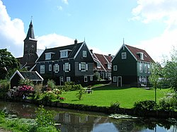 The village Marken