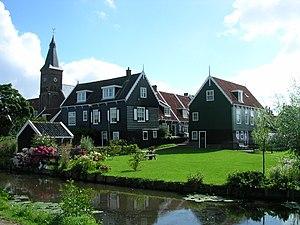 Waterland - Marken town centre