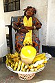 Market Woman with Basket of Wares - Outside Barclay's Bank - Cape Coast - Ghana (4721644802).jpg