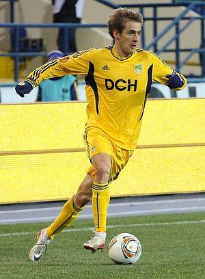 Marko Dević - Dević playing against Malmö FF in November 2011
