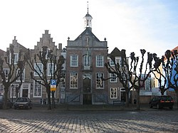 The old city hall on the market in Geertruidenberg