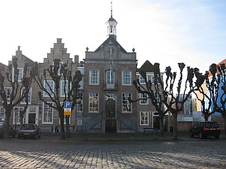 Geertruidenberg - Former city hall on market square