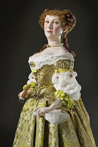 Françoise-Athénaïs, marquise de Montespan - Marquise de Montespan from the George S. Stuart Gallery of Historical Figures