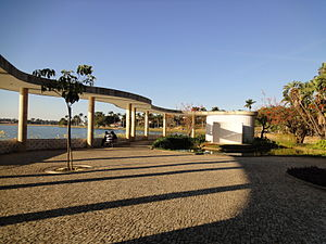 Oscar Niemeyer - The free-form marquee at Casa do Baile