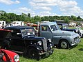 Marsworth Steam Rally - An Austin 7 and a Volvo Pick-up - geograph.org.uk - 1354598.jpg