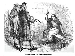 Martha Corey Convicted of being a witch during the 1692 Salem witch trials