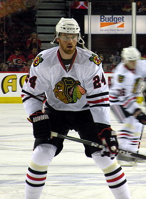 Martin Havlát - Havlát during his tenure with the Chicago Blackhawks