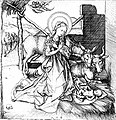 Martin Schongauer, Christi Geburt (1480) (2).jpg