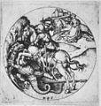 Martin Schongauer - Der heilige Georg als Drachentöter, im Rund (L 58).jpg