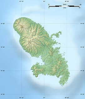 Mount Pelee is located in Martinique